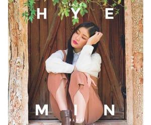 korean, hyemin, and singhyemin image