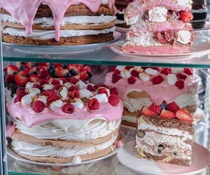bakery, cake, and delicious image