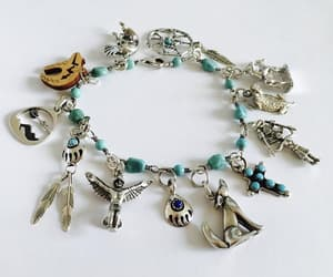 etsy, sterling silver jewelry, and navajo bracelet image