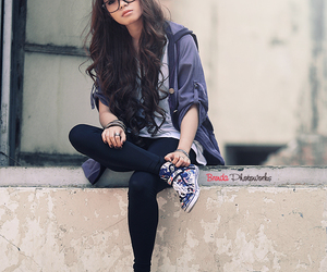 curls, girl, and pretty image