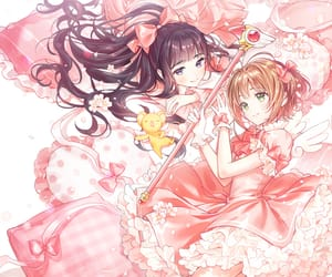 anime, spring, and pastel pink image