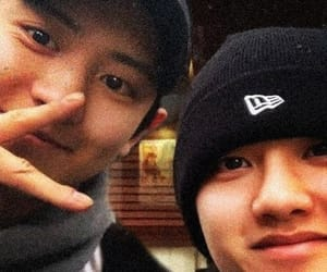 exo, park chanyeol, and cute image