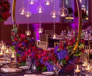 decoration, event, and flowers image