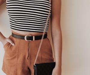 brown, girl, and shorts image