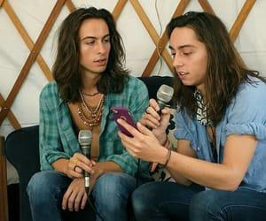 boys, boys with long hair, and cute boys image