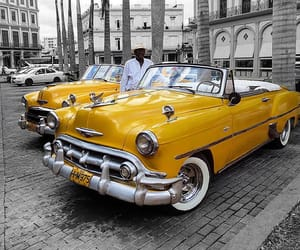 automobiles, vintage, and cars image