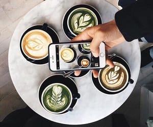 coffee, green, and food image