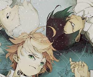 anime, gif, and yakusoku no neverland image