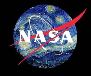 nasa, art, and space image