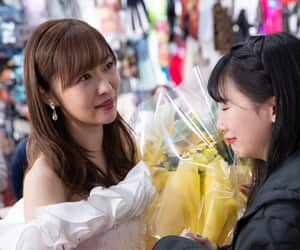hkt48, tanaka miku, and sashihara rino image