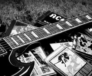 guitar, metallica, and ac dc image