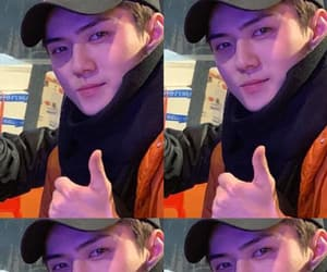 exo, gorgeous, and sehun image