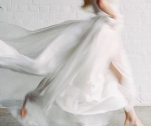 bride, silk, and white image