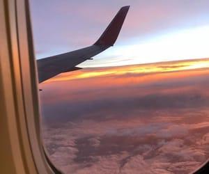 airplane, city, and meninas image