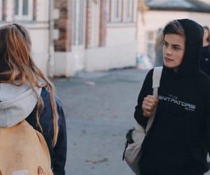 aesthetic, girl, and boy image