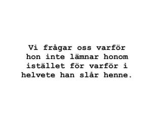 depression, quote, and svenska image