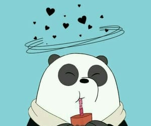 wallpaper, panda, and we bare bears image