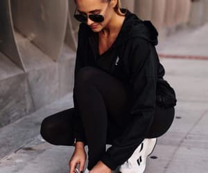 blogger, fashion, and jogging image