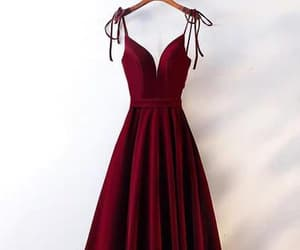 prom dresses, cheap prom dresses, and burgundy prom dresses image