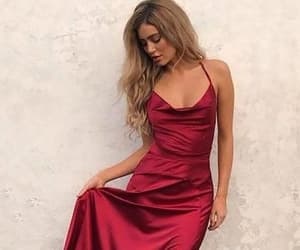 long prom dresses, burgundy prom dresses, and prom dresses simple image