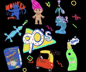 90s, aesthetic, and colorful image