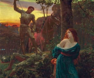 art, chivalry, and painting image