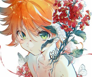 anime, emma, and the promised neverland image