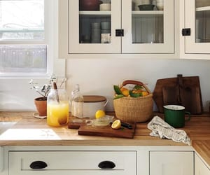 basket, homey, and kitchen image