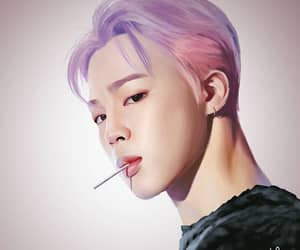 fanart, music, and park jimin image