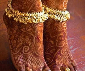 anklet, payal jewellery, and payal image