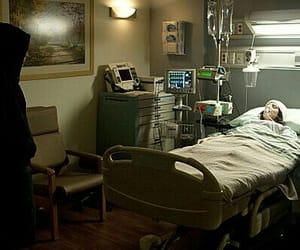 boy, girl, and hospital image