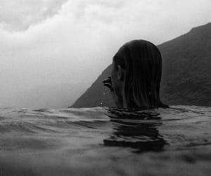 girl, black, and photography image