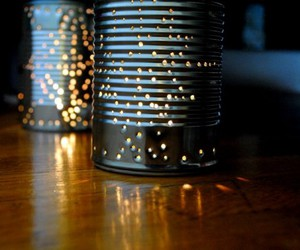 art, diy, and tin can image