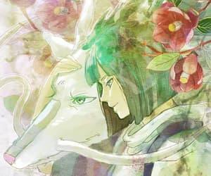 anime, spirited away, and haku image