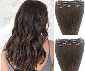 etsy, hair extensions, and human hair extension image