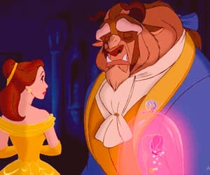 beauty and the beast, inspiration, and lovers image