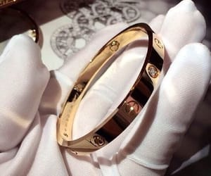 gold, cartier, and bracelet image
