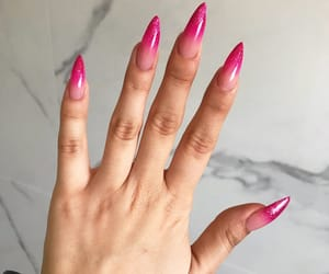claws, nails, and pink image