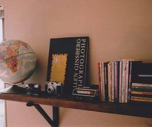 camera and books image