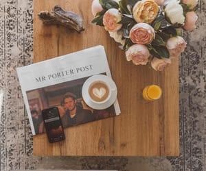 april, boho, and coffee image