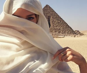 girl, egypt, and beauty image