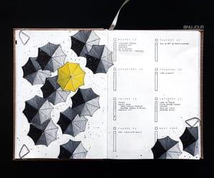 diary, diy, and drawing image