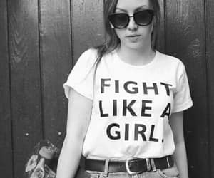 black and white photo, black and white photography, and feminism image