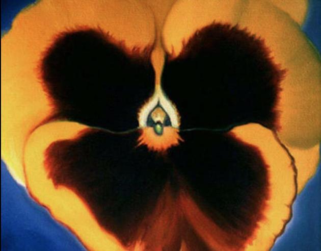 georgia o'keeffe----- The Mistress of Flowers