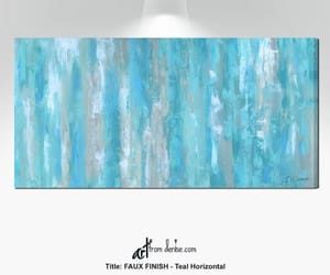 Abstract Painting, canvas wall art, and dining room artwork image