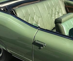 green, car, and vintage image