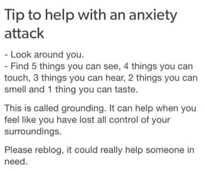 anxiety, attack, and control image