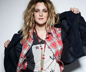 drew barrymore and fashion image