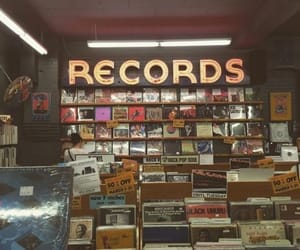 music, aesthetic, and record image
