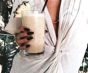 drink, summer, and tumblr image